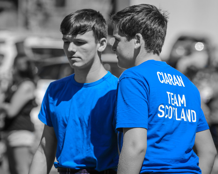 Wrestlers in Blue: Dean Whyte & Ciaran Kane
