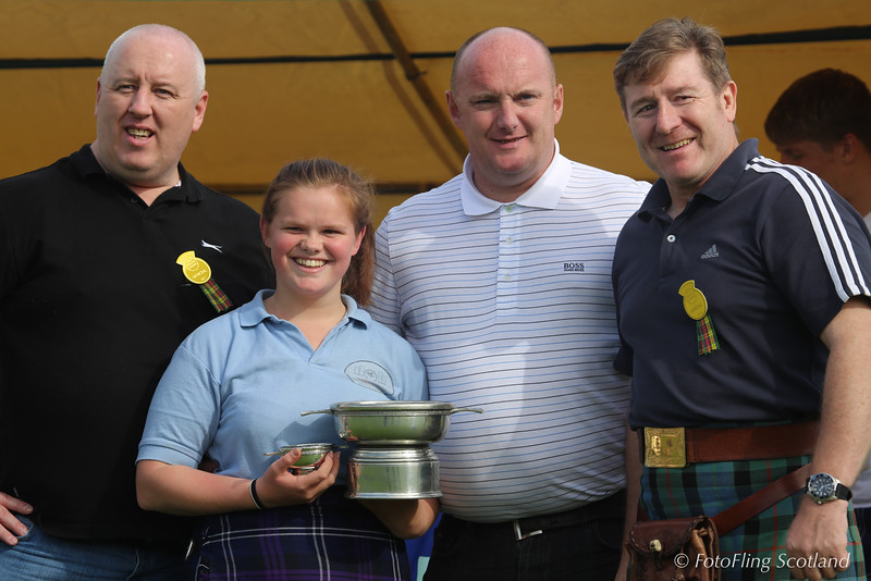Erin McNeill - Scottish Open Ladies Backhold Wrestling Champion 2013 at Cowal Gathering