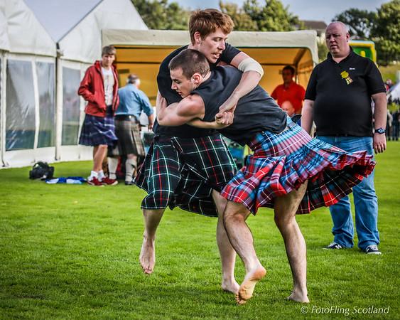 Backhold Wrestling at Cowal Highland Games