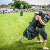 Backhold Wrestling at Bute Highland Games