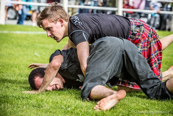 Scottish Backhold Wrestlers: Magnús Karl Ásmundsson & Gurvan Salaun