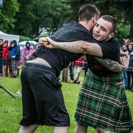Scottish Backhold Wrestlers:  Luke McMahon & Jack Mccluskey