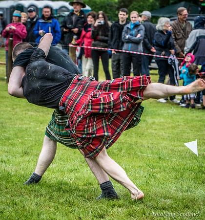 Scottish Backhold Wrestling: Jack McCluskey & Ryan Ferrey