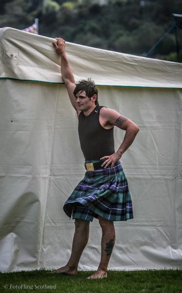 John Taylor - Scottish Wrestler Cowal Gathering 2009