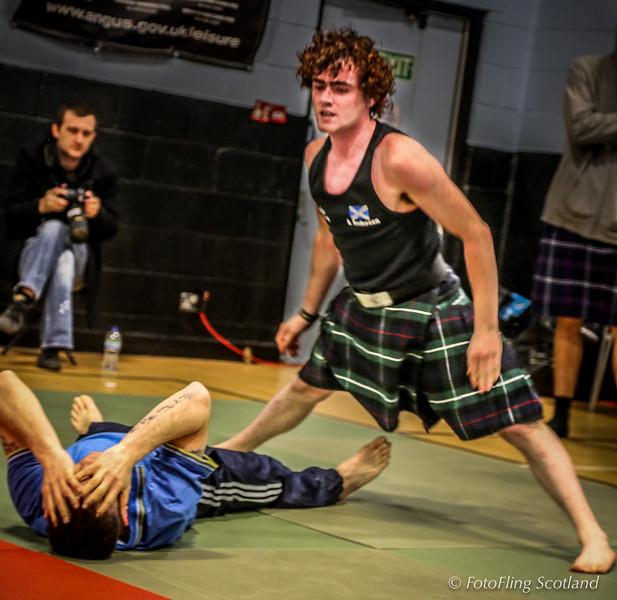 Angus Backhold Wrestling Championship