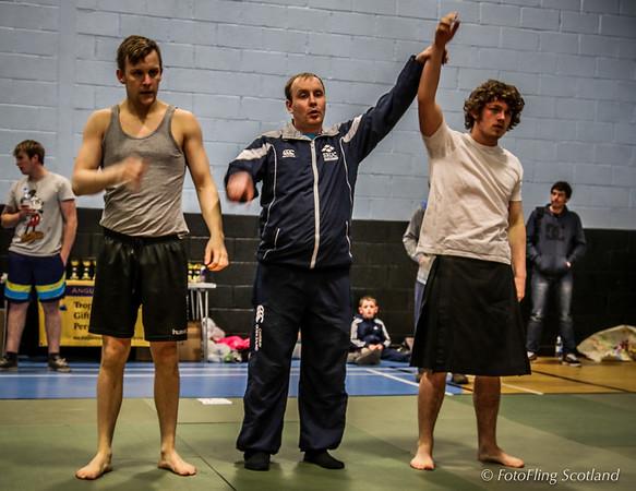 Angus Backhold Wrestling Championship 2013