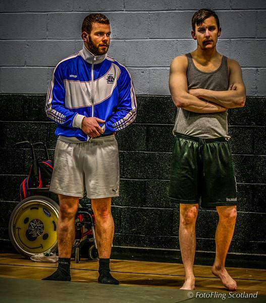Icelandic Wrestlers at Angus Backhold Wrestling Championship