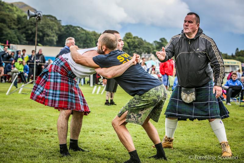 Backhold Wrestling at Bridge of Allan