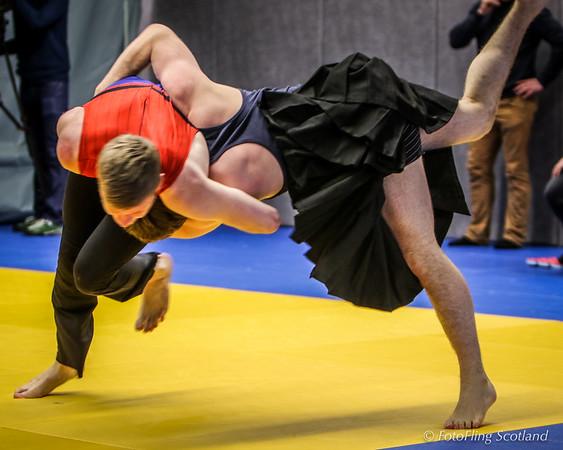 Scottish Backhold Wrestlers at Reykjavik International Games 2016