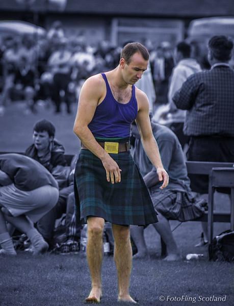 Robert Clark - Scottish Backhold Wrestler
