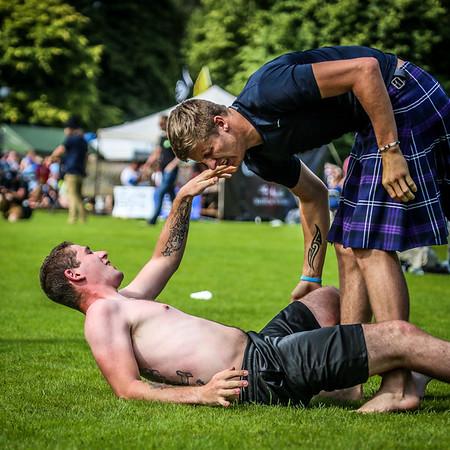Scottish Backhold Wrestling at Inveraray