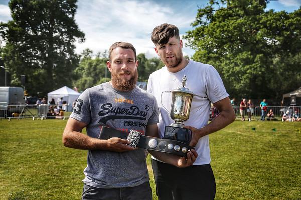 Ryan Dolan - Open Wrestling Champion & Frazer Hirsch - Open Wrestling Champion Runner-up