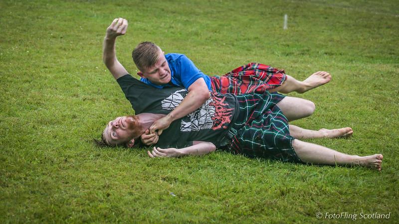 Scottish Backhold Wrestlers: Scott Carson &  Liam Mcgunnagle