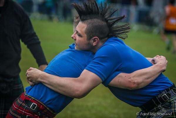 Scottish Backhold Wrestlers: Scott Carson & Ryan Ferrey