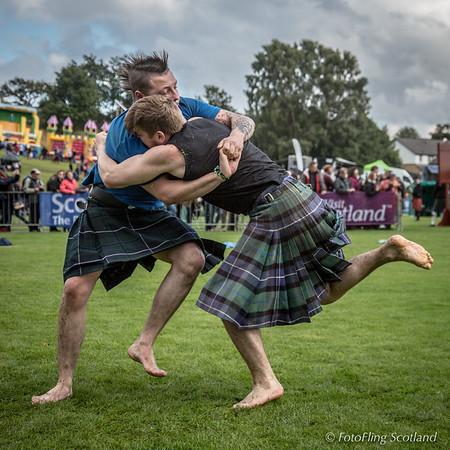 Scottish Backhold Wrestling: Scott Carson & Greg Neilson