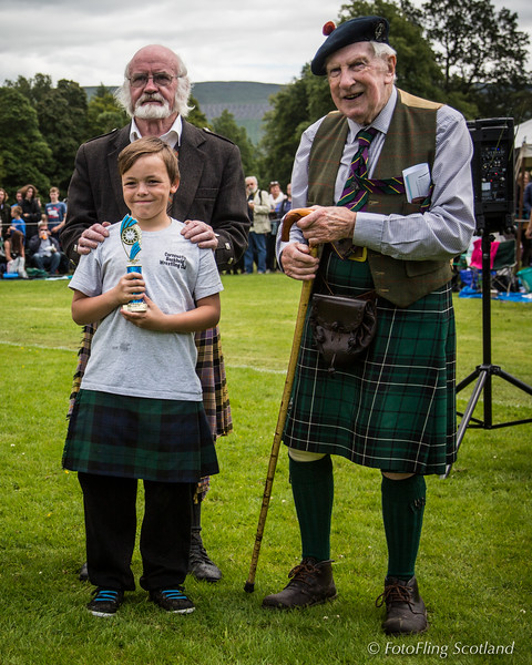 Backhold Wrestling Junior Prizewinner - Inveraray Games 2015