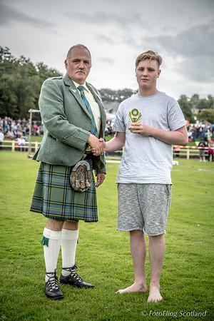 Rothesay Academy Wrestling Prize Winner:  David Barnaby Maxwell