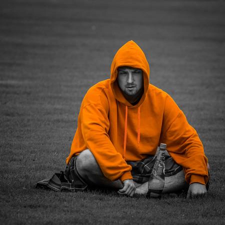The Orange Hoodie