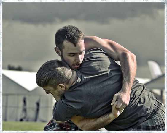 Backhold Wrestlers - Paul Craig & Greg Neilson
