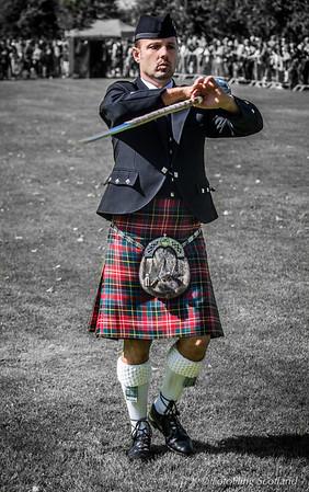 Drum Major Brian Wilson