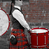 Red Kilted Drummer