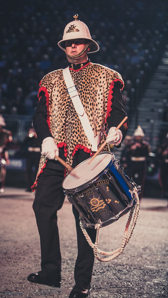 Bearskin Drummer - Band of the Armed Forces of Malta