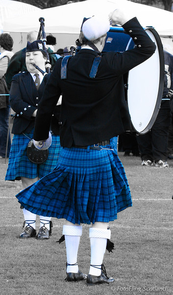 Blue Kilt