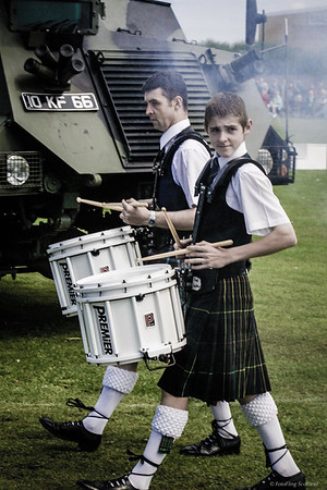 Kilted Drummers