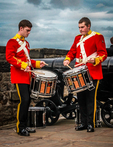 Drummers on the Battlements