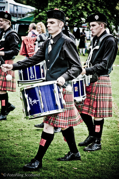 Pipeband<br /> Pitlochry Highland Games 2010