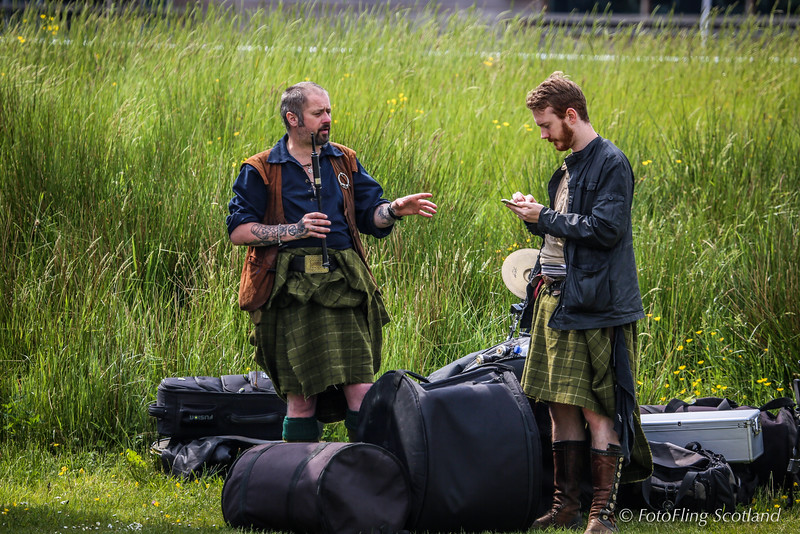 Members of Clann An Drumma
