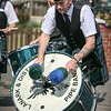 Lanark & District Pipe Band Drummer