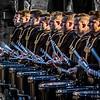 Top Secret Drum Corp Member pre show Royal Edinburgh Military Tattoo 2015