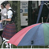 Umbrellas & Drummers