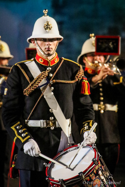 Drummer: Royal Marines, Scotland