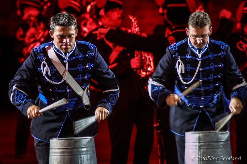 Trompetter-korps Bereden Wapens