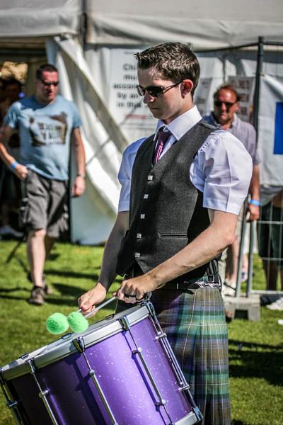 Drummer Boy<br /> West Lothian Highland Games 2012