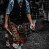 Kilted Drummer<br /> The 2006 World Pipeband Championships, Glasgow