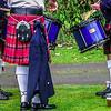 Drumming Practice<br /> Pitlochy Highland Games 2003