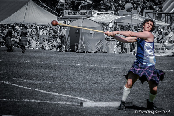 Hammer thrower- watch out !