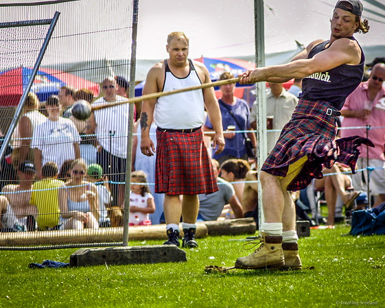 Craig Smith swings the hammer