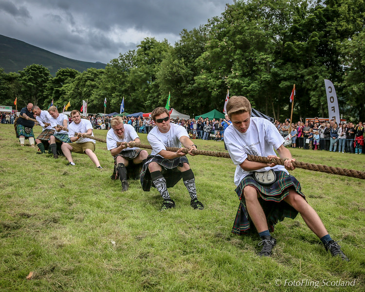 Maclaren Clan Tug O' War Team