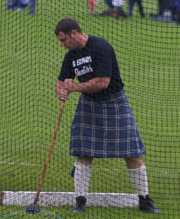 Gregor Edmunds<br /> Crieff Highland Gathering 2001