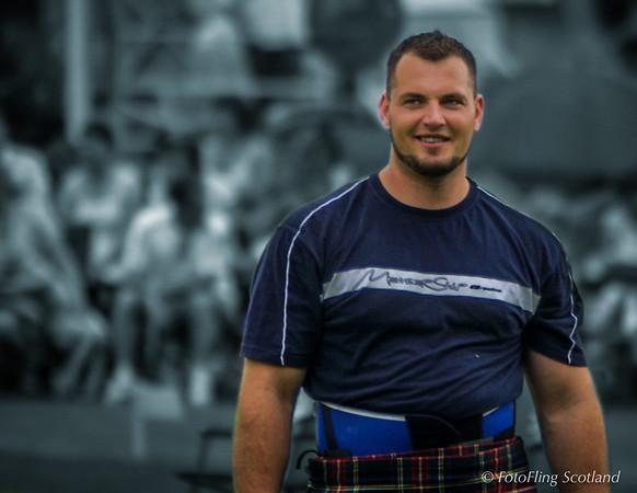 Gregor Edmunds - Scottish Heavyweight Contestant