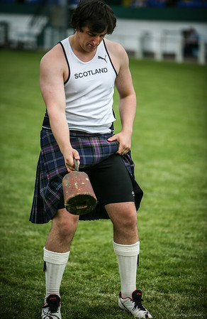 Kyle Randalls - Scottish Heavyweight Contestant