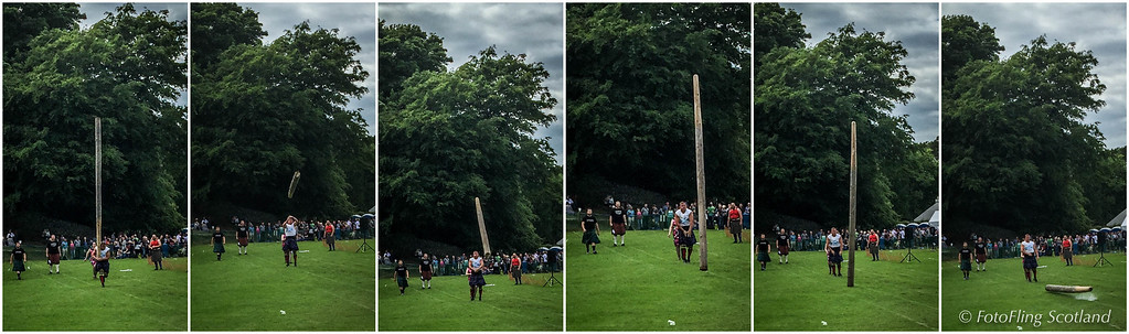 Well Tossed Caber