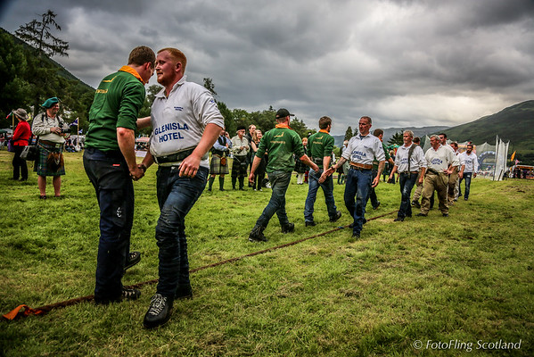 Tug O' War - Mount Blair v Strathardle