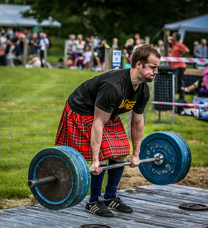 Kilted Weight Lifter