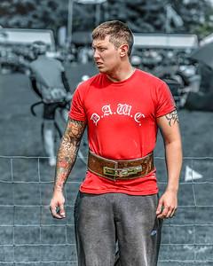 Tattooed Strongman