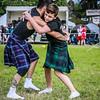 Scottish Backhold Wrestlers